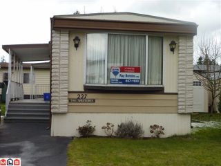 Photo 1: 227 3665 244 Street in Langley: Otter District House for sale : MLS®# F1104884