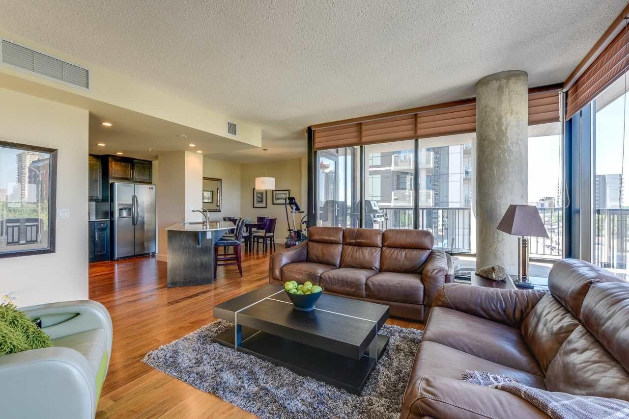 Photo 3: Photos: 601 11933 JASPER Avenue in Edmonton: Zone 12 Condo for sale : MLS®# E4233069