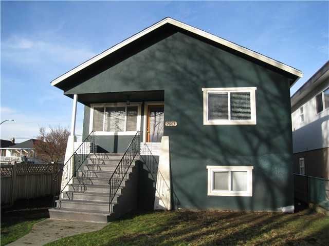 Main Photo: 2603 ADANAC Street in Vancouver: Renfrew VE House for sale (Vancouver East)  : MLS®# V866221