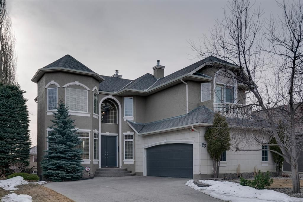 Main Photo: 23 Evergreen Rise SW in Calgary: Evergreen Detached for sale : MLS®# A1085175