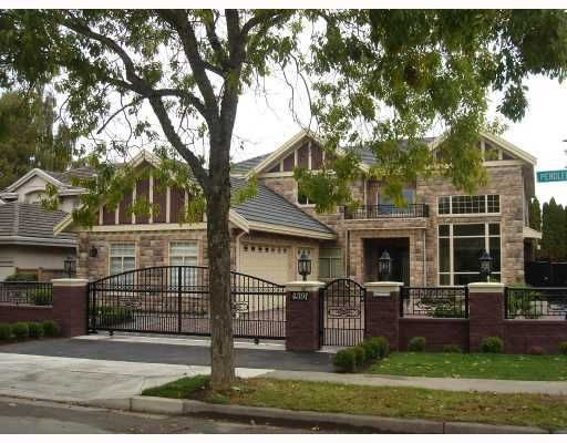 Main Photo: 4391 PENDLEBURY Road in Richmond: Boyd Park House for sale : MLS®# V759663
