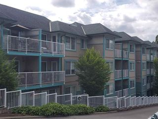 "Photo 2: 407 33960 OLD YALE Road in Abbotsford: Central Abbotsford Condo for sale in ""OLD YALE HEIGHTS"" : MLS®# R2499608"