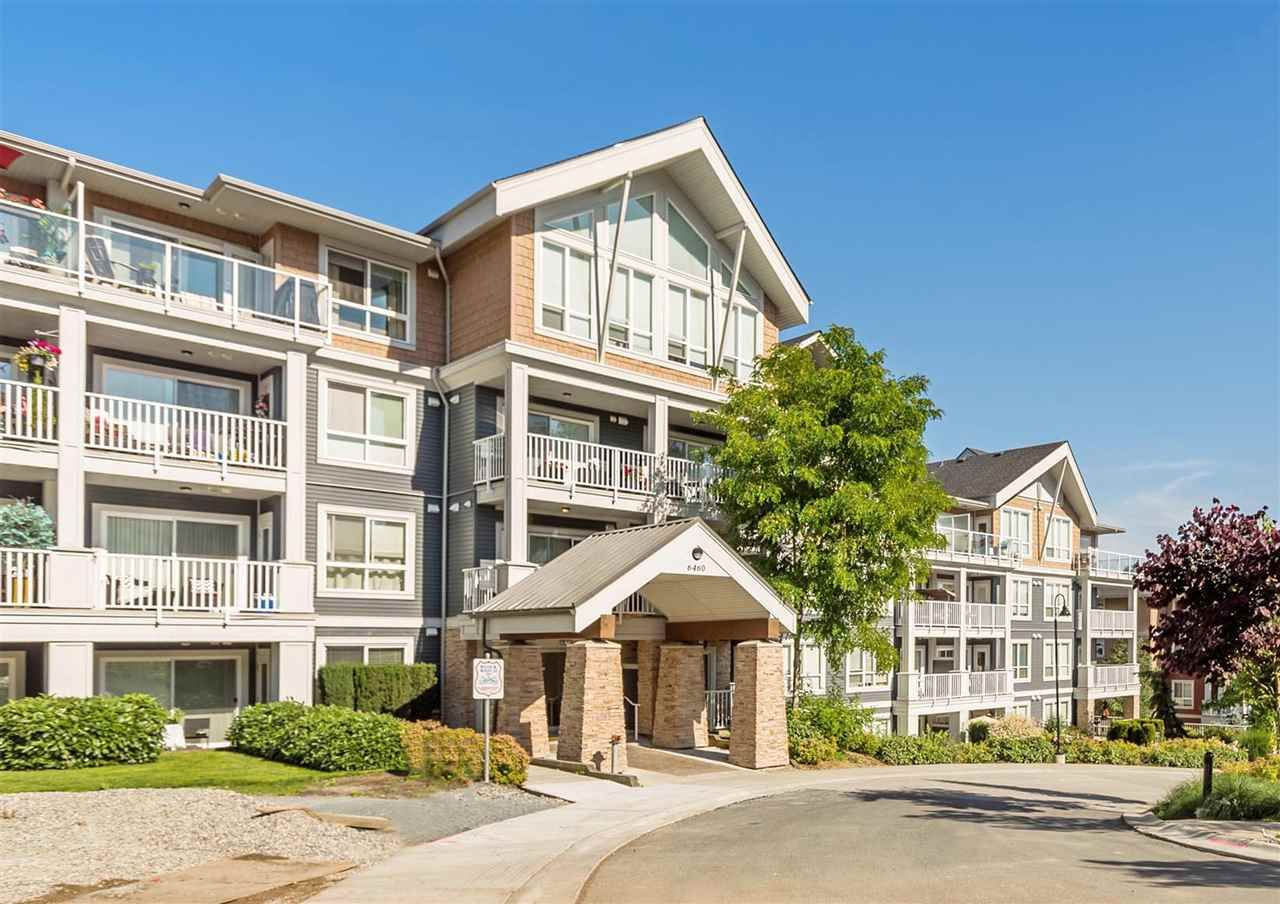"""Main Photo: 309 6460 194 Street in Surrey: Clayton Condo for sale in """"Waterstone"""" (Cloverdale)  : MLS®# R2587671"""