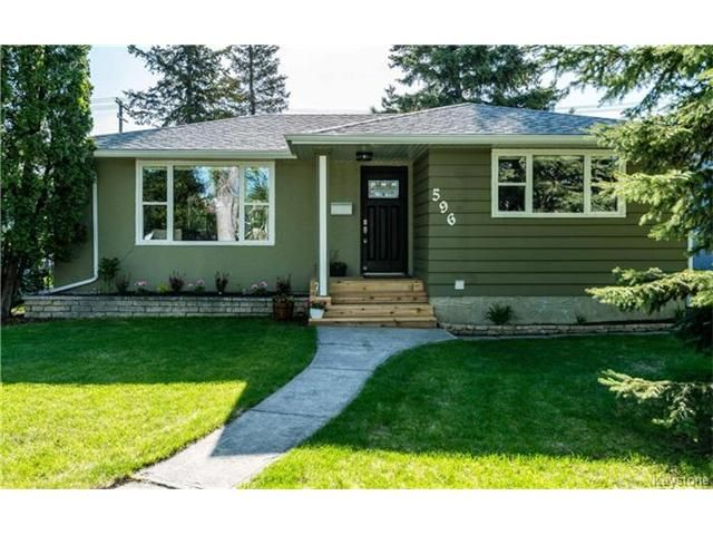 Main Photo: 596 Campbell Street in Winnipeg: River Heights South Residential for sale (1D)  : MLS®# 1712938