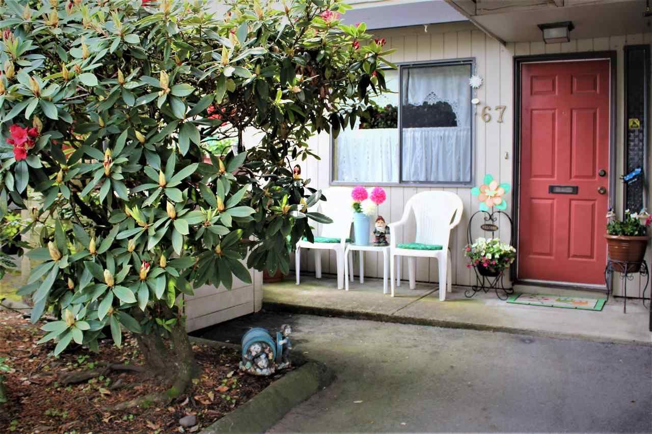 "Main Photo: 67 6712 BAKER Road in Delta: Sunshine Hills Woods Townhouse for sale in ""SUNRIDGE ESTATES"" (N. Delta)  : MLS®# R2169241"