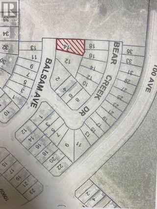 Photo 1: 14 Balsam Avenue in High Level: Vacant Land for sale : MLS®# A1129129