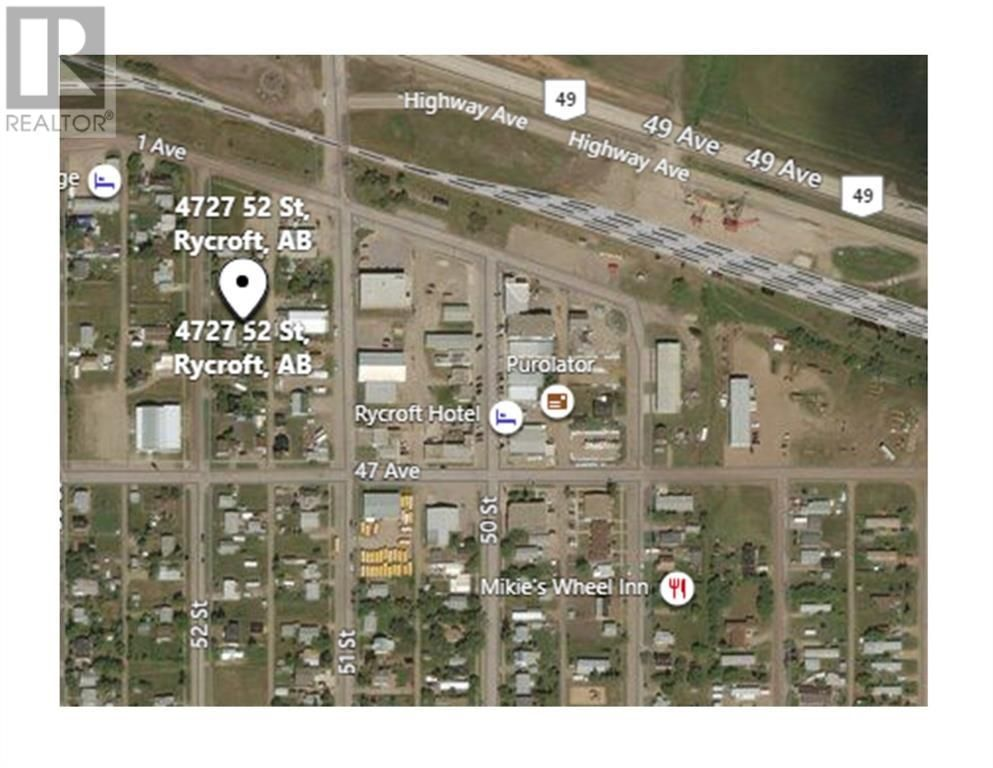 Main Photo: 4727 52 Street in Rycroft: Vacant Land for sale : MLS®# A1073068