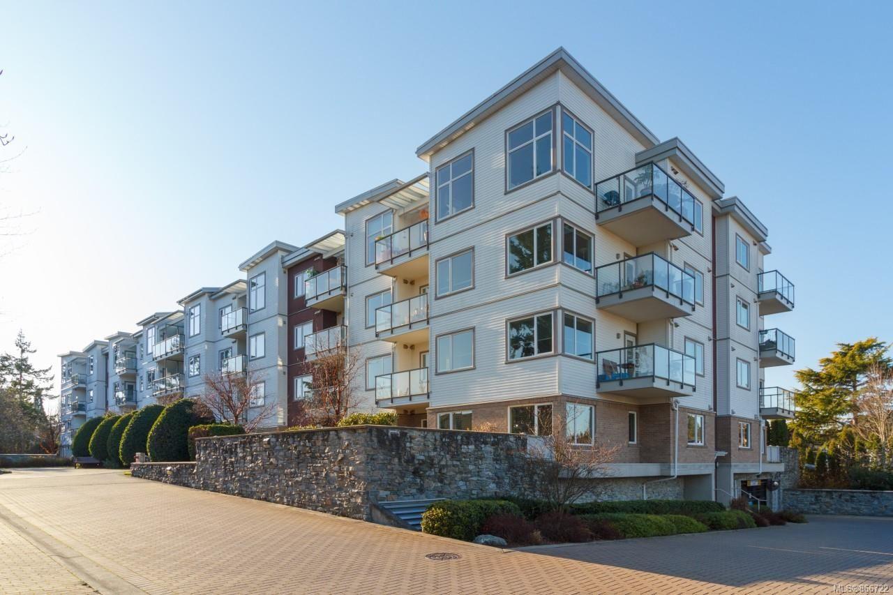 Main Photo: 410 4394 West Saanich Rd in : SW Royal Oak Condo for sale (Saanich West)  : MLS®# 866722