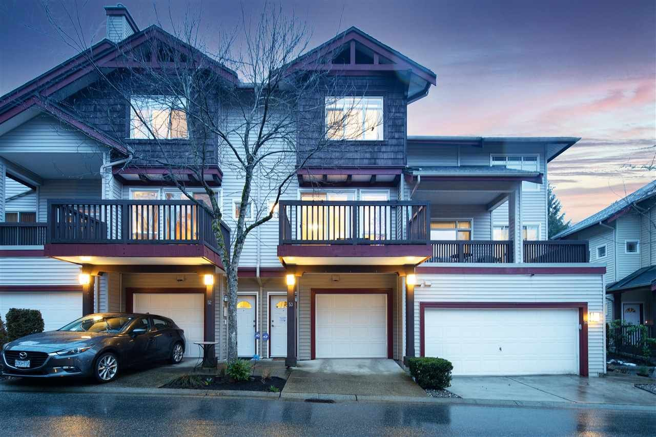 "Main Photo: 53 15 FOREST PARK Way in Port Moody: Heritage Woods PM Townhouse for sale in ""DISCOVERY RIDGE"" : MLS®# R2540995"