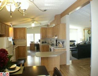 """Photo 2: 27A 24330 FRASER Highway in Langley: Otter District Manufactured Home for sale in """"LANGLEY GROVE ESTATES"""" : MLS®# F1002102"""
