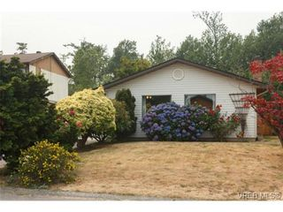 Photo 1: 9584 Northlawn Terr in SIDNEY: Si Sidney South-East House for sale (Sidney)  : MLS®# 707320
