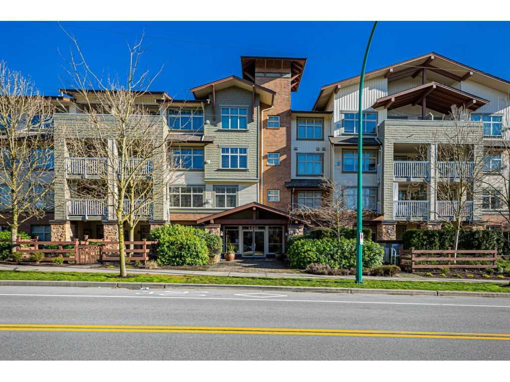 """Main Photo: 408 6500 194 Street in Surrey: Clayton Condo for sale in """"Sunset Grove"""" (Cloverdale)  : MLS®# R2535664"""
