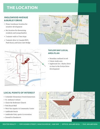 Photo 4: 4 Lot Land Assembly Listing in West Vancouver