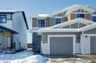 Photo 1: 976 SETON Circle SE in Calgary: Seton Semi Detached for sale : MLS®# C4276345