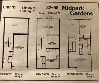 Photo 31: 32 99 Midpark Gardens SE in Calgary: Midnapore Row/Townhouse for sale : MLS®# A1092782