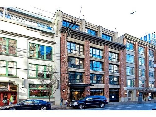 Main Photo: 401 1238 HOMER Street in Vancouver West: Yaletown Home for sale ()  : MLS®# V1054002