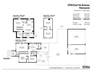 "Photo 34: 2750 E 1ST Avenue in Vancouver: Renfrew VE House for sale in ""PRIME RENFREW"" (Vancouver East)  : MLS®# R2553326"