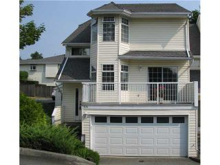 """Photo 1: 104 1180 FALCON Drive in Coquitlam: Eagle Ridge CQ Townhouse for sale in """"FALCON HEIGHTS"""" : MLS®# V1019475"""