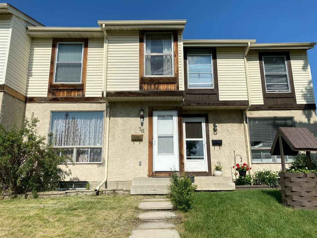 Main Photo: 76 Abergale Way NE in Calgary: Abbeydale Row/Townhouse for sale : MLS®# A1128567