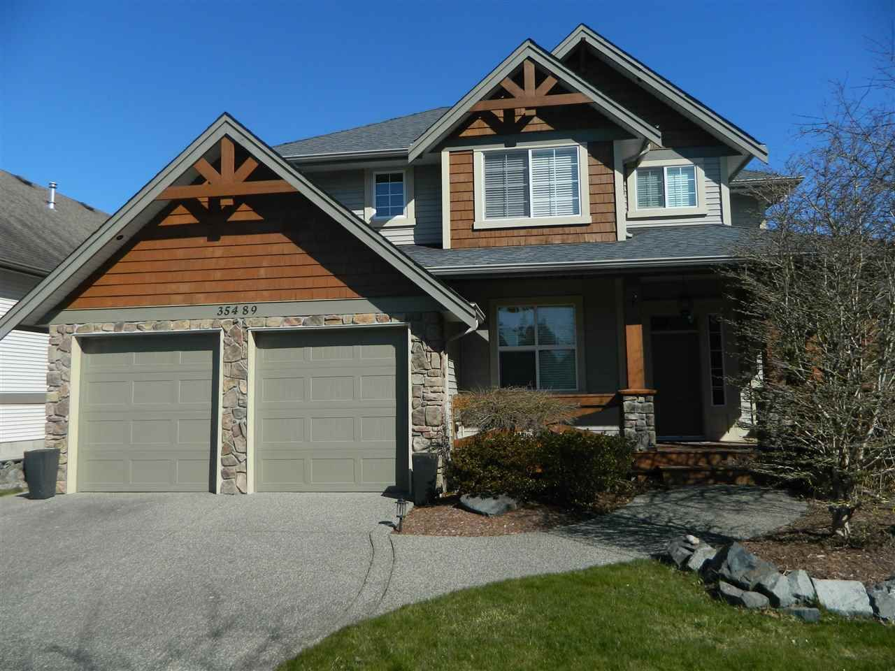 "Main Photo: 35489 MCKINLEY Drive in Abbotsford: Abbotsford East House for sale in ""Sandy Hill Estates"" : MLS®# R2444758"