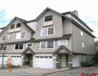 "Photo 1: 63 15355 26TH AV in White Rock: King George Corridor Townhouse for sale in ""South Wind"" (South Surrey White Rock)  : MLS®# F2605100"