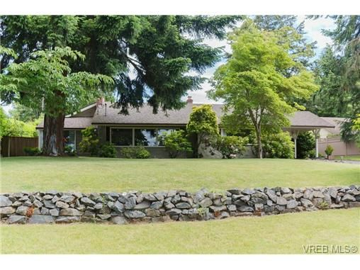 Main Photo: 4527 Duart Rd in VICTORIA: SE Gordon Head House for sale (Saanich East)  : MLS®# 674147