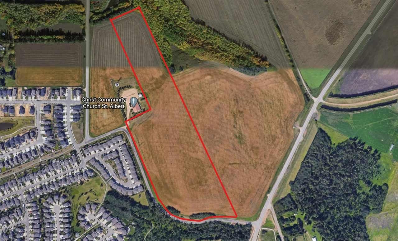 Main Photo: 3 Coal Mine Road: Rural Sturgeon County Rural Land/Vacant Lot for sale : MLS®# E4219371