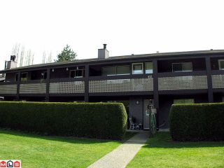 """Photo 1: 512 34909 OLD YALE Road in Abbotsford: Abbotsford East Townhouse for sale in """"THE GARDENS"""" : MLS®# F1208648"""