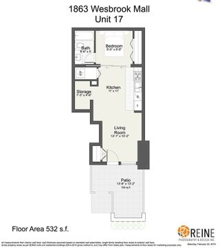 """Photo 19: 17 1863 WESBROOK Mall in Vancouver: University VW Townhouse for sale in """"ESSE"""" (Vancouver West)  : MLS®# R2341458"""