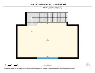 Photo 47: 71 10550 ELLERSLIE Road in Edmonton: Zone 55 Condo for sale : MLS®# E4265282