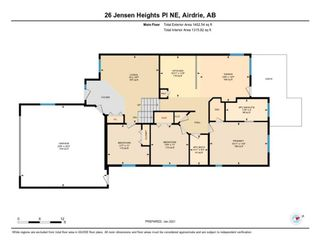 Photo 32: 26 Jensen Heights Place NE: Airdrie Detached for sale : MLS®# A1062665