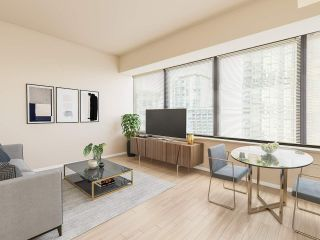 "Photo 1: 404 1333 W GEORGIA Street in Vancouver: Coal Harbour Condo for sale in ""THE QUBE"" (Vancouver West)  : MLS®# R2545049"