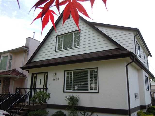 Photo 2: Photos: 3604 NAPIER Street in Vancouver: Renfrew VE House for sale (Vancouver East)  : MLS®# V1121247