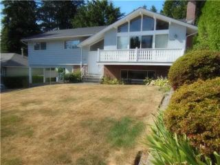 """Photo 1: 858 CLEMENTS Avenue in North Vancouver: Canyon Heights NV House for sale in """"ANYON HEIGHTS"""" : MLS®# V1134933"""