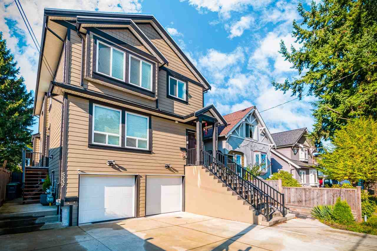 Main Photo: 5237 CLARENDON Street in Vancouver: Collingwood VE 1/2 Duplex for sale (Vancouver East)  : MLS®# R2511267