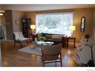 Photo 2: 23 Linacre Road in Winnipeg: Fort Richmond Residential for sale (1K)  : MLS®# 1629235