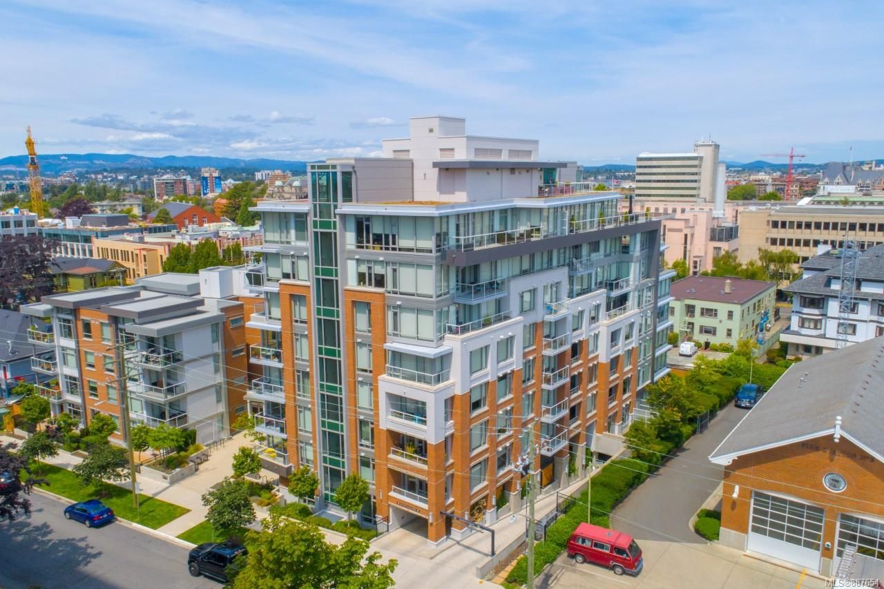 Main Photo: 607 646 Michigan St in : Vi James Bay Condo for sale (Victoria)  : MLS®# 887654