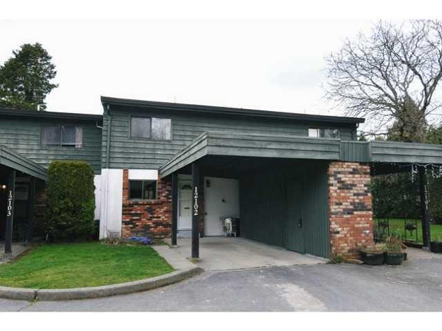 Main Photo: 12102 SCHMIDT CR in Maple Ridge: Northwest Maple Ridge Condo for sale : MLS®# V1055977
