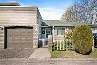 """Photo 1: 16 6320 48A Avenue in Delta: Holly Townhouse for sale in """"""""GARDEN ESTATES"""""""" (Ladner)  : MLS®# R2568766"""
