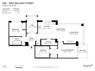 Photo 2: 503 5955 BALSAM Street in Vancouver: Kerrisdale Condo for sale (Vancouver West)  : MLS®# R2557575