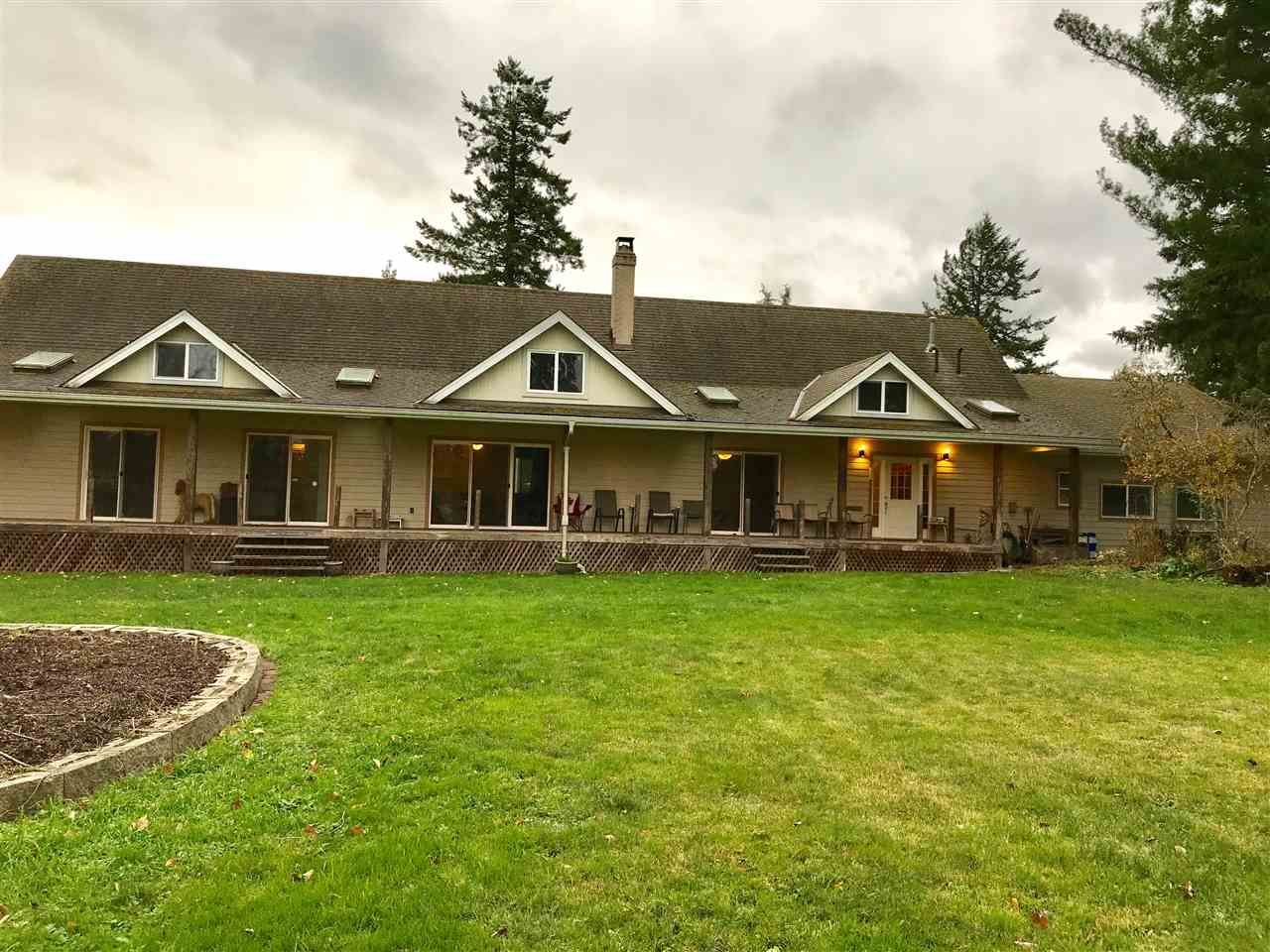 Main Photo: 136 232 Street in Langley: Campbell Valley House for sale : MLS®# R2222115