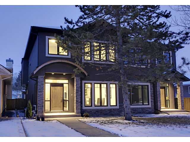Main Photo: 3332 40 Street SW in CALGARY: Glenbrook Residential Attached for sale (Calgary)  : MLS®# C3548100