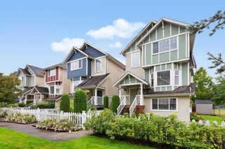 "Main Photo: 35 1108 RIVERSIDE Close in Port Coquitlam: Riverwood Townhouse for sale in ""HERITAGE MEADOWS"" : MLS®# R2476964"