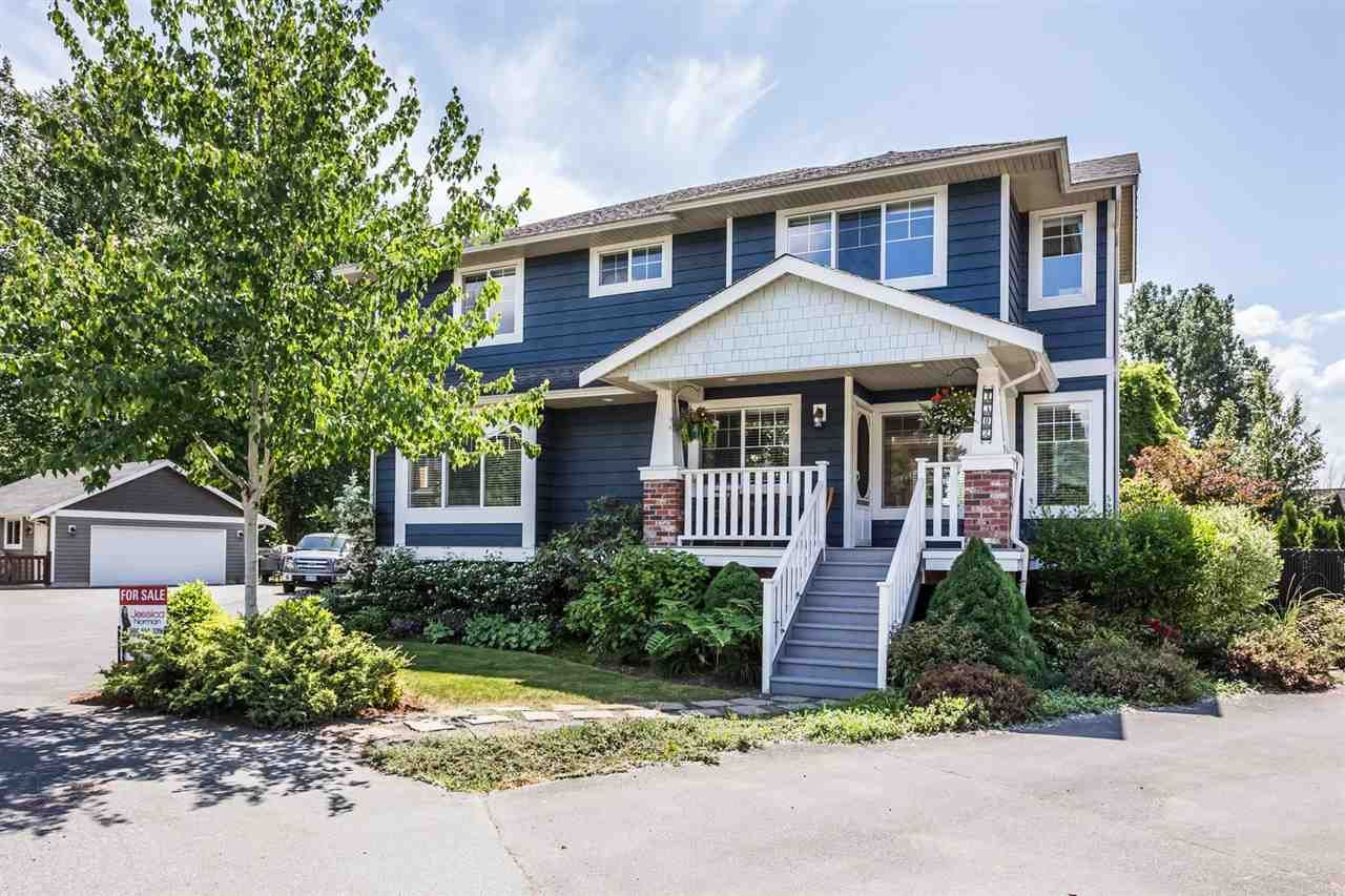 """Main Photo: 4302 PIONEER Court in Abbotsford: Abbotsford East House for sale in """"CLAYBURN VILLAGE"""" : MLS®# R2282537"""