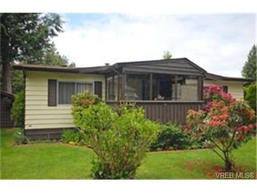 Main Photo:  in SOOKE: Sk Sooke River Manufactured Home for sale (Sooke)  : MLS®# 470543