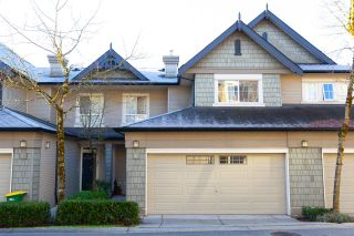 """Photo 1: 42 2978 WHISPER Way in Coquitlam: Westwood Plateau Townhouse for sale in """"WHISPER RIDGE"""" : MLS®# R2344484"""
