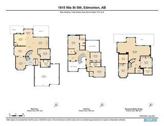 Photo 50: 1815 90A Street in Edmonton: Zone 53 House for sale : MLS®# E4234300