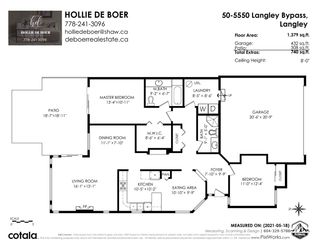 """Photo 36: 50 5550 LANGLEY Bypass in Langley: Langley City Townhouse for sale in """"Riverwynde"""" : MLS®# R2582599"""