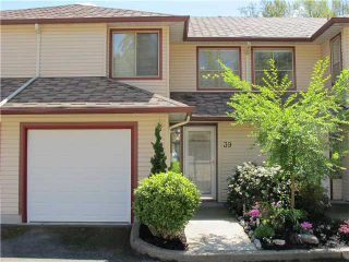 """Photo 1: 39 21960 RIVER Road in Maple Ridge: West Central Townhouse for sale in """"FOXBOROUGH HILLS"""" : MLS®# V1005125"""