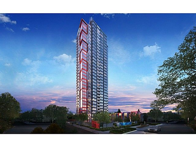 """Photo 1: Photos: 609 6658 DOW Avenue in Burnaby: Central Park BS Condo for sale in """"POLYGON MODA"""" (Burnaby South)  : MLS®# V1091989"""